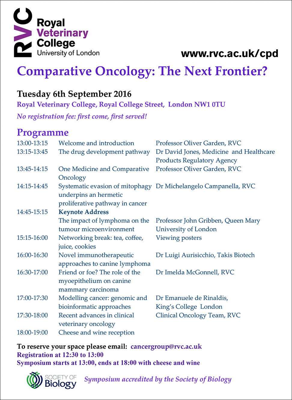 Comparative-Oncology The-Next-Frontier programme